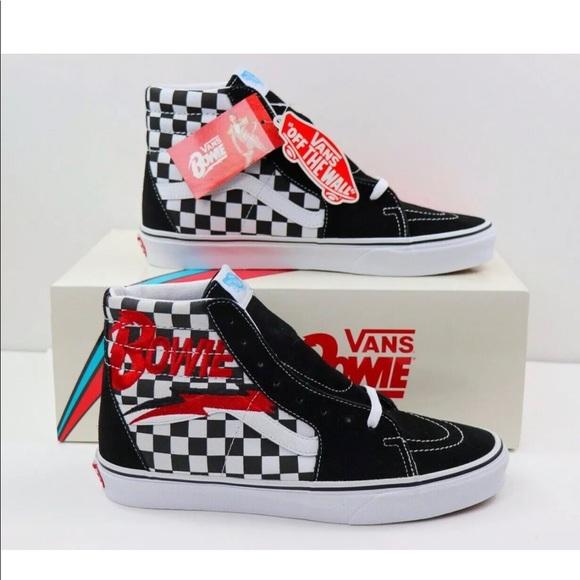 Vans Shoes   Vans Sk8hi Top David Bowie